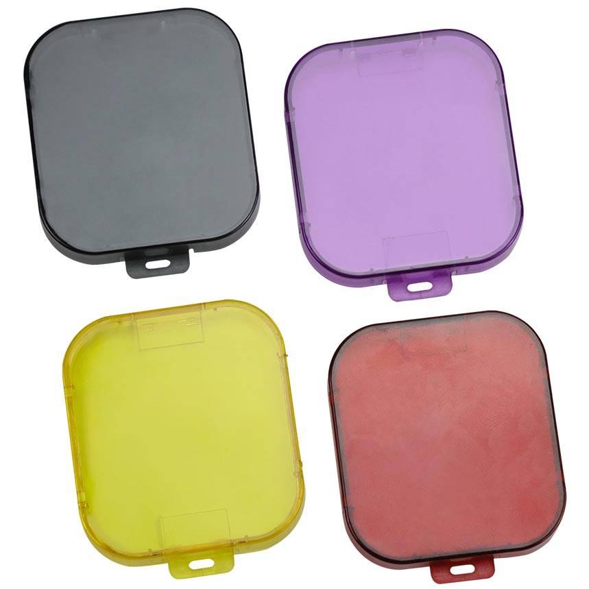 b2393a74ffba1c GoPro Hero 5 Water Duik Filter (Voor Super Suit)(Zwart/rood/paars/geel) -  My-Cheap.com